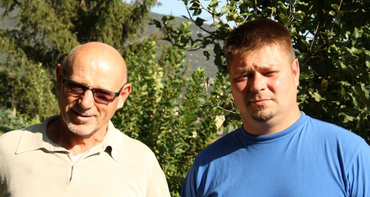 Stanko and Saša Radikon, 2014